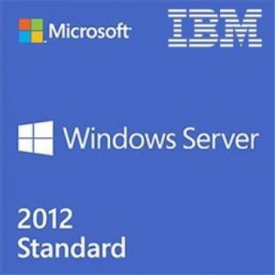Серверное ПО Lenovo Windows Server 2012 R2 Standard ROK (2CPU/2VMs) - MultiLang (00FF247)Серверное ПО Lenovo<br>Lenovo TopSeller Windows Server 2012 R2 Standard ROK (2CPU/2VMs) - MultiLang<br>