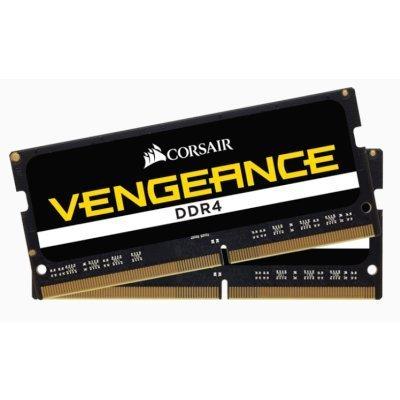 Модуль оперативной памяти ПК Corsair CMSX16GX4M2A2400C16 16Gb DDR4 (CMSX16GX4M2A2400C16)Модули оперативной памяти ПК Corsair<br>Память DDR4 16Gb 2400MHz Corsair CMSX16GX4M2A2400C16 RTL PC3-19200 SO-DIMM 260-pin 1.2В<br>