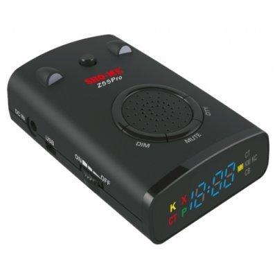 Радар-детектор Sho-Me Z55 PRO (Z55 PRO)Радар-детекторы Sho-Me<br>радар-детектор с лазерным приемником<br>диапазоны: K, Ka, Ku, X, Ultra-K, Ultra-X<br>обнаружение радаров типа Стрелка, Robot -<br>режимы: Город, Трасса, Авто<br>поддержка POP<br>GPS, база стац. радаров<br>