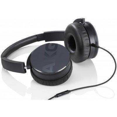 Наушники AKG Y50 черный (Y50BLK)Наушники AKG<br>Наушники накладные Y50, 32 Ом, 115 dB, черные<br>