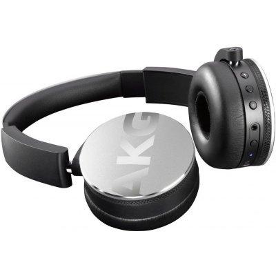 Наушники AKG Y50BT серебристый (Y50BTSLV)Bluetooth-гарнитуры AKG<br>Наушники беспроводные Y50BT, 32 Ом, 120 dB, серебристый<br>