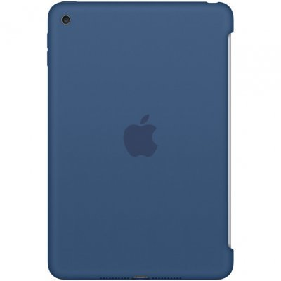 Чехол для планшета Apple iPad mini 4 Silicone Case - Ocean Blue (MN2N2ZM/A)