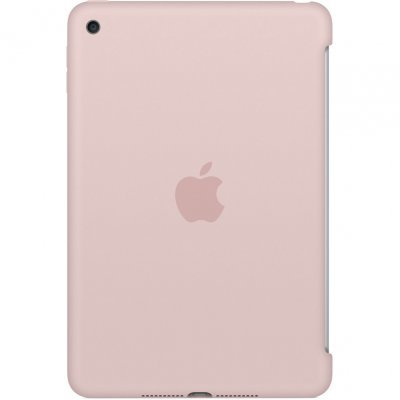 цена на Чехол для планшета Apple iPad mini 4 Silicone Case - Pink Sand (MNND2ZM/A)