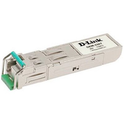 Трансивер D-Link DEM-330T/B2A (DEM-330T/B2A)Трансиверы D-Link<br>D-Link DEM-330T, 1-port mini-GBIC 1000Base-LX SMF WDM SFP Tranceiver (up to 10km, support 3.3V power, LC connector).<br>