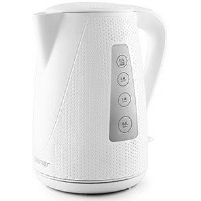 Электрический чайник Zelmer ZCK0272W белый (ZCK0272W)Электрические чайники Zelmer<br>Чайник электрический Zelmer ZCK0272W 1.7л. 2200Вт белый (корпус: пластик)<br>