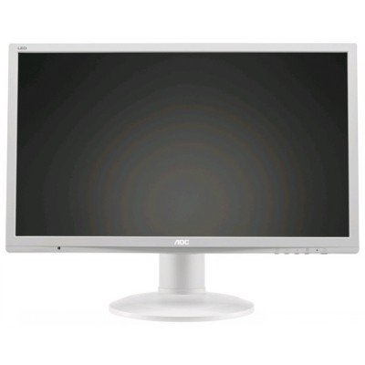 Монитор AOC E2460PQ белый (E2460PQ)Мониторы AOC<br>24 AOC E2460PQ 1920x1080 TN LED 16:9 2ms VGA DVI DP 50M:1 170/160 250cd Speakers поворот экрана White<br>