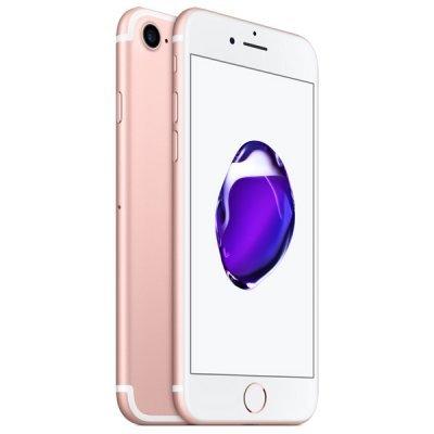 Смартфон Apple iPhone 7 32Gb розовое золото (MN912RU/A)Смартфоны Apple<br>смартфон, iOS 10<br>экран 4.7, разрешение 1334x750<br>камера 12 МП, автофокус<br>память 32 Гб, без слота для карт памяти<br>3G, 4G LTE, LTE-A, Wi-Fi, Bluetooth, NFC, GPS, ГЛОНАСС<br>вес 138 г, ШxВxТ 67.10x138.30x7.10 мм<br>