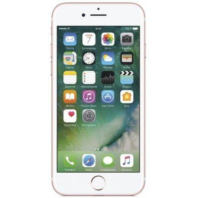 Смартфон Apple iPhone 7 128Gb (MN952RU/A) Rose Gold (Розовое золото) (MN952RU/A) hoco чехол силиконовый apple iphone 7 4 7 hoco metal finger rose gold