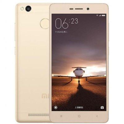 Смартфон Xiaomi Redmi 3S 32Gb золотистый (Redmi3SGD32GB)Смартфоны Xiaomi<br>Смартфон Xiaomi Redmi 3S DS 5,0(1280x720)IPS LTE Cam (13/5) MSM8937 1.4ГГц(8) (3/32)Гб microSD до 128Гб A6.0 4100мАч Золотистый Redmi3SGD32GB<br>
