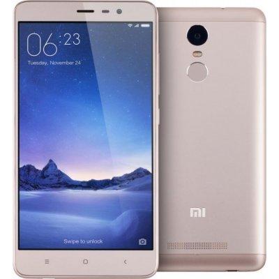 Смартфон Xiaomi Redmi Note 3 Pro 16Gb золотистый (RedmiNote3G16GB)Смартфоны Xiaomi<br>Смартфон Xiaomi Redmi Note 3 Pro DS 5,5(1920x1080)IPS LTE Cam (16/5) MSM8956 1.8ГГц(6) (2/16)Гб A5.1 4000мАч Золотистый RedmiNote3G16G<br>