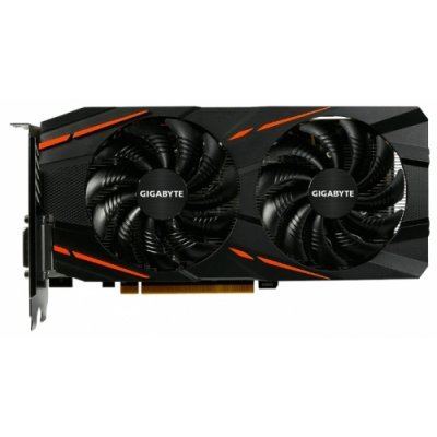 Видеокарта ПК Gigabyte Radeon RX 480 1290Mhz PCI-E 3.0 8192Mb 8000Mhz 256 bit DVI HDMI HDCP (GV-RX480G1GAMING-8GD)