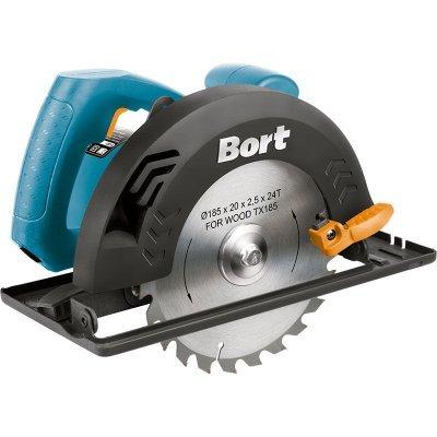 Пила Bort BHK-185U (93727222)Пилы Bort<br>дисковая пила<br>мощность 1500 Вт<br>диаметр диска 185 мм<br>плавная регулировка скорости<br>вес 4.5 кг<br>