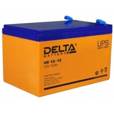 Аккумуляторная батарея для ИБП Delta HR 12-12 (HR 12-12), арт: 248713 -  Аккумуляторные батареи для ИБП Delta