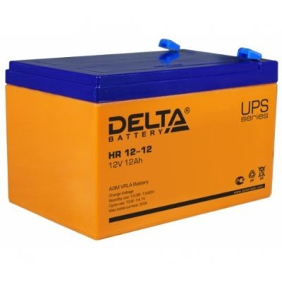 Аккумуляторная батарея для ИБП Delta HR 12-12 (HR 12-12) аккумуляторная батарея для ибп delta hr 12 28w hr 12 28 w