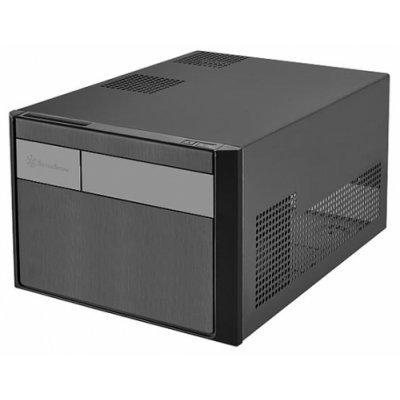 Корпус системного блока Silverstone SG11B Black (SST-SG11B)Корпуса системного блока Silverstone<br>компьютерный корпус Micro-Tower без блока питания форм-фактор mATX, Mini-ITX спереди: USB x2, наушн., микр. материал: сталь габариты: 270x212x393 мм<br>
