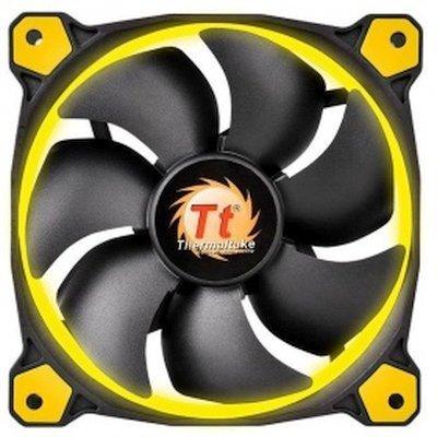 Система охлаждения корпуса ПК Thermaltake Riing 14 LED Yellow (CL-F039-PL14YL-A)Системы охлаждения корпуса ПК Thermaltake<br>Вентилятор Thermaltake Riing 14 LED 140mm Yellow + LNC (CL-F039-PL14YL-A)<br>