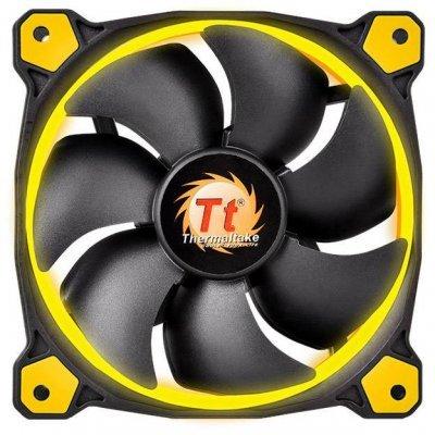 Система охлаждения корпуса ПК Thermaltake Riing 12 LED Yellow (CL-F038-PL12YL-A)Системы охлаждения корпуса ПК Thermaltake<br>Вентилятор Thermaltake Riing 12 LED 120mm Yellow + LNC (CL-F038-PL12YL-A)<br>