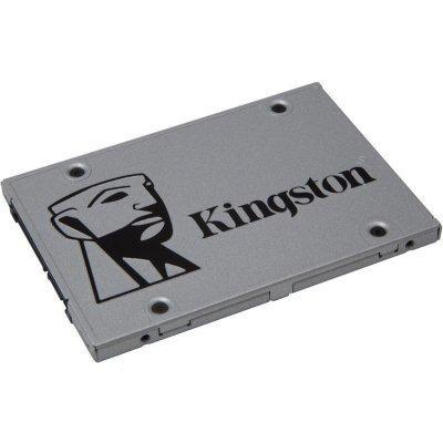 Накопитель SSD Kingston SUV400S3B7A/960G (SUV400S3B7A/960G)Накопители SSD Kingston<br>Kingston 960GB SSDNow UV400 SATA 3 2.5 (7mm height) Upgrade Bundle Kit TLC<br>