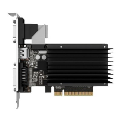 Видеокарта ПК Palit GeForce GT 730 902Mhz PCI-E 2.0 1024Mb 1804Mhz 64 bit DVI HDMI HDCP Silent (NEAT7300HD06-2080H)