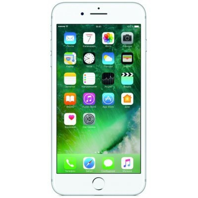 Смартфон Apple iPhone 7 Plus 32Gb (MNQN2RU/A) Silver (Серебристый) (MNQN2RU/A) смартфон apple iphone 7 plus 32gb mnqm2ru a черный