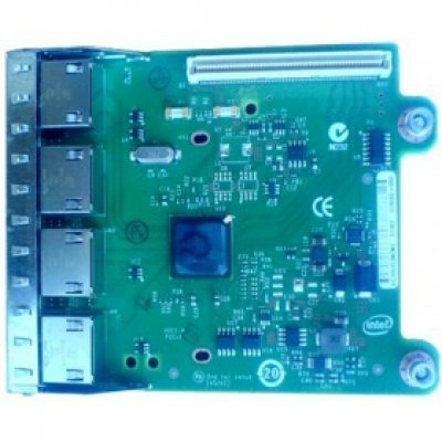 Плата расширения Dell Intel Ethernet i350 1Gb 4P Network Daughter Card (540-BBHF) (540-BBHF)Платы расширения Dell<br>Сетевая карта Dell Intel Ethernet i350 1Gb 4P Network Daughter Card (540-BBHF)<br>
