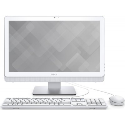 Моноблок Dell Inspiron 3263 (3263-2808) (3263-2808)Моноблоки Dell<br>Моноблок Dell Inspiron 3263 21.5 Full HD P N4405U (2.1)/4Gb/1Tb 5.4k/Windows 10 Home Single Language 64/GbitEth/WiFi/BT/45W<br>