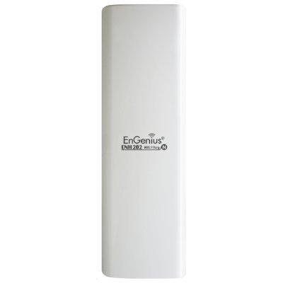 Wi-Fi роутер EnGenius ENH202 (ENH202)Wi-Fi роутеры EnGenius<br>EnGenius Outdoor AP/CPE 11b/g/n 2.4GHz 300Mbps 2T2R 10dBi DP Panel 2*FE IP55 PPoE<br>