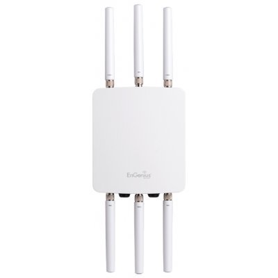 Wi-Fi точка доступа EnGenius ENH900EXT (ENH900EXT)Wi-Fi точки доступа EnGenius<br>EnGenius Outdoor AP Dual Radio Concurrent 11a/b/g/n 2.4+5GHz 450+450 3T3R+3T3R 3*5+3*7dBi N-Type Omni 2*GbE IP68 pPoE+at<br>