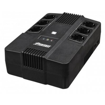 Источник бесперебойного питания Powerman Brick 600 (BRICK600) батарея powerman ca12120 ups 12v 12ah
