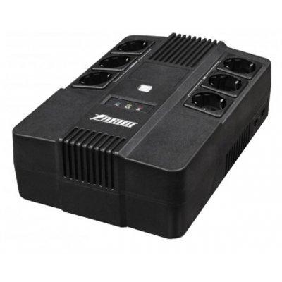 Источник бесперебойного питания Powerman Brick 600 (BRICK600) источник бесперебойного питания irbis personal 600va isb600e isb600e