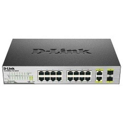 Коммутатор D-Link DES-1018P/A2A (DES-1018P/A2A) коммутатор d link dgs 3120 48tc b1ari
