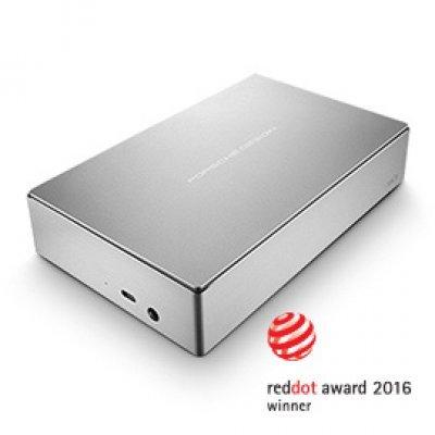Внешний жесткий диск LaCie STFE8000200 (STFE8000200)Внешние жесткие диски LaCie<br>LaCie Porsche Design Desktop Drive 8TB / USB 3.0 silver Type C<br>