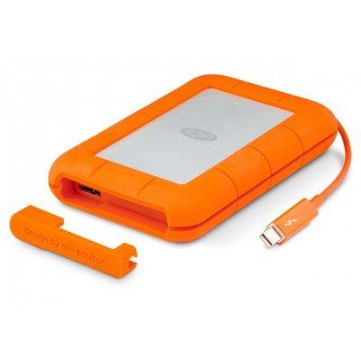 Накопитель SSD LaCie STEZ500400 (STEZ500400)Накопители SSD LaCie<br>Внешний твердотельный накопитель LaCie STEZ500400 500ГБ Rugged Thunderbolt &amp;amp; USB 3.0 SSD 2.5 w integrated cable<br>