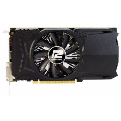 Видеокарта ПК PowerColor Radeon RX 460 1212Mhz PCI-E 3.0 2048Mb 7000Mhz 128 bit DVI HDMI HDCP (AXRX 460 2GBD5-DH/OC)