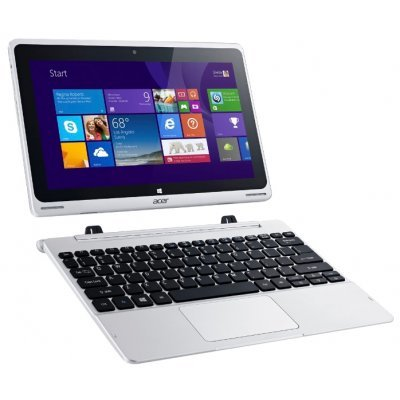 Планшетный ПК Acer Aspire Switch 10 Dock металл (NT.LCTER.001)Планшетные ПК Acer<br>Acer SWITCH SW1-011-17TW Intel Atom x5-Z8300/2GB DDR3/eMMC 32GB + 500 GB HDD/10.1 WXGA IPS Multi-Touch LCD/UMA/camera 2MP+2MP/WiFi + BT/2-cell battery/Windows 10 Home/Металл<br>