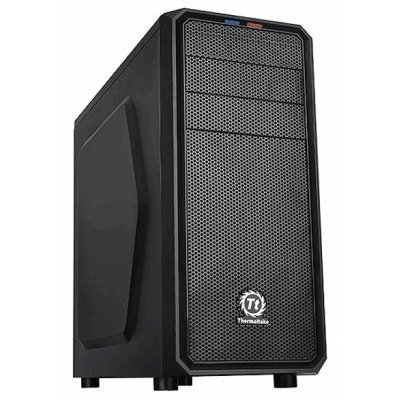 Корпус системного блока Thermaltake Versa H25 CA-1C2-00M1NN-00 черный (CA-1C2-00M1NN-00)Корпуса системного блока Thermaltake<br>Корпус Thermaltake Versa H25 черный без БП ATX 4x120mm 1xUSB2.0 1xUSB3.0 audio bott PSU<br>