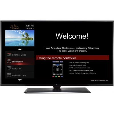 ЖК телевизор LG 40 40LX761H (40LX761H)ЖК телевизоры LG<br>LG IP HTV 40   LG 40LX761H LED, IP/RF In, 1 Side HDMI, RJ-45, RS-232C, External Clock Interface, 50Hz<br>