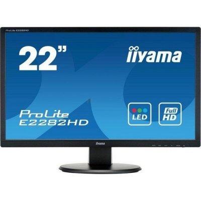 Монитор IIYAMA 21,5 E2282HD-B1 (E2282HD-B1) монитор ультра hd