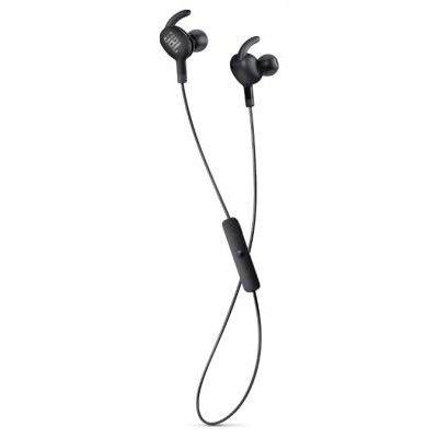 Bluetooth-гарнитура JBL V100BT черный (V100BTBLK)Bluetooth-гарнитуры JBL<br>Наушники беспроводные V100BT, черные<br>