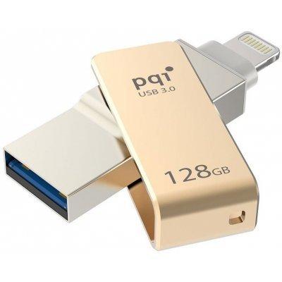 USB накопитель PQI iConnect mini 128GB золотистый (6I04-128GR2001), арт: 249261 -  USB накопители PQI