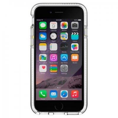Чехол для смартфона Tech21 T21-5001 для iPhone 6/6S прозрачный/белый (T21-5001)Чехлы для смартфонов Tech21<br>Evo Band iPhone 6/6S Clear/White<br>