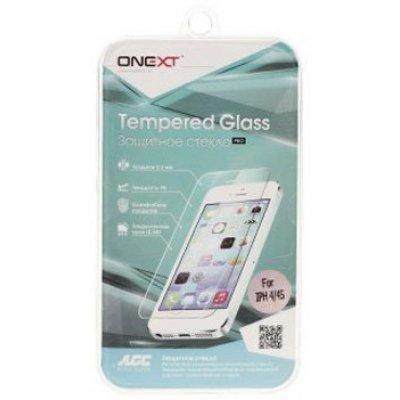 Пленка защитная для смартфонов Onext для Apple iPhone 4/4S (Защитное стекло) (40740)Пленки защитные для смартфонов Onext<br>Защитное стекло для Apple iPhone 4/4S, Onext<br>