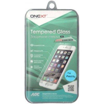 Пленка защитная для смартфонов Onext для iPhone 6 Plus антибликовая (Защитное стекло) (40814)Пленки защитные для смартфонов Onext<br>Защитное стекло для Apple iPhone 6 Plus антибликовое, Onext<br>