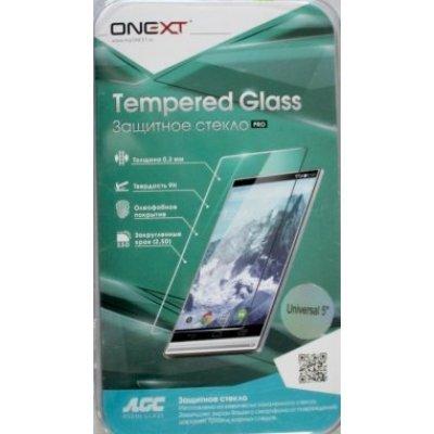 Пленка защитная для смартфонов Onext для дисплеев 5 универсальная (Защитное стекло) (40963)Пленки защитные для смартфонов Onext<br>Защитное стекло для дисплеев 5 универсальное, Onext<br>