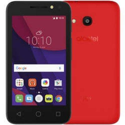 Смартфон Alcatel PIXI 4 4034D красный (4894461375885)Смартфоны Alcatel<br>Смартфон Alcatel OT 4034D PIXI 4 Red<br>