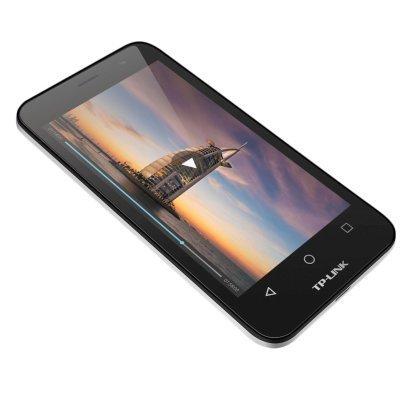 Смартфон TP-link Neffos Y5L темно-серый (TP801A21RU)Смартфоны TP-link<br>Qualcomm MSM8209, 1100 МГц, 4.5 854?480, 2 Sim, Android 6.0, 1 Гб, 8 Гб, основная камера 5MP, фронтальная камера 2MP, 3G, 127 г., темно - серый (TP801A21RU)<br>