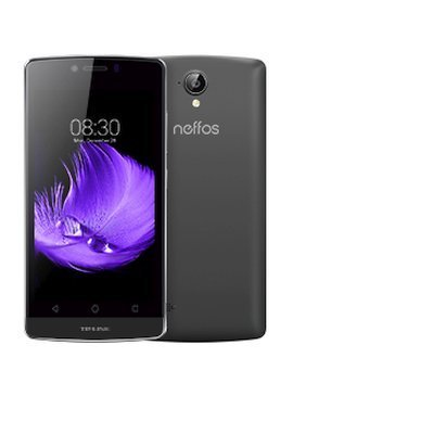 Смартфон TP-link Neffos C5L Серый (TP601A21RU)Смартфоны TP-link<br>Qualcomm Snapdragon 210 MSM8909, 1100 МГц, 4.5 854x480, 2 Sim, Android 5.1, 1 Гб, 8 Гб, основная камера 8MP, фронтальная камера 2MP, 3G, 4G, 154 г., (серый)<br>