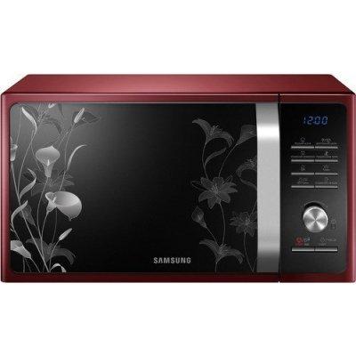 Микроволновая печь Samsung MG23F301TFR красный (MG23F301TFR/BW)Микроволновые печи Samsung<br>Микроволновая Печь Samsung MG23F301TFR 23л. 800Вт красный<br>