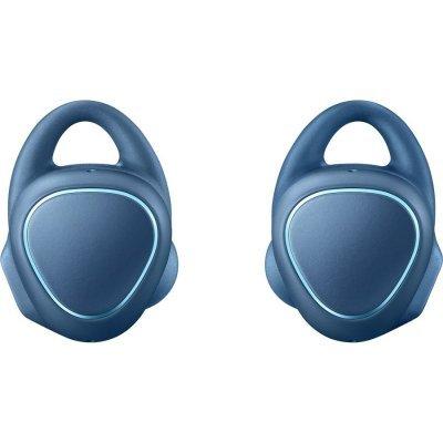 Bluetooth-гарнитура Samsung Gear IconX синий (SM-R150NZBASER)Bluetooth-гарнитуры Samsung<br>Гарнитура Беспроводная Samsung Gear IconX SM-R150N BT4.1 вкладыши для правого и левого уха синий<br>