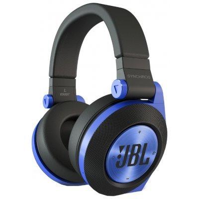 Bluetooth-гарнитура JBL E50BT синий (E50BTBLU)Bluetooth-гарнитуры JBL<br>Наушники беспроводные E50BT, 32 Ом, синие<br>